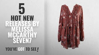 Hot New Melissa Mccarthy Seven7 Women Clothing [2018]: Melissa Mccarthy Seven Plus Size Brown