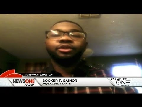 Booker Gainor Elected As Cairo Georgia's First African-American Mayor