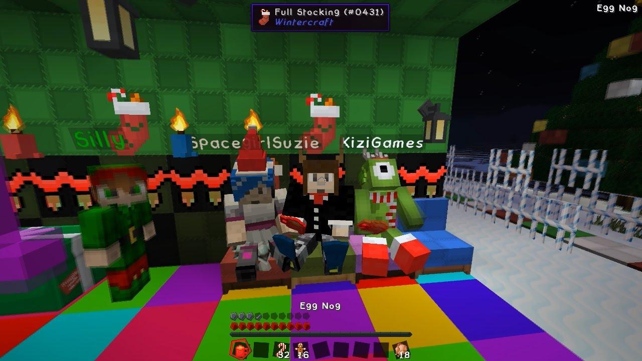 minecraft christmas party kizi christmas part 1 youtube