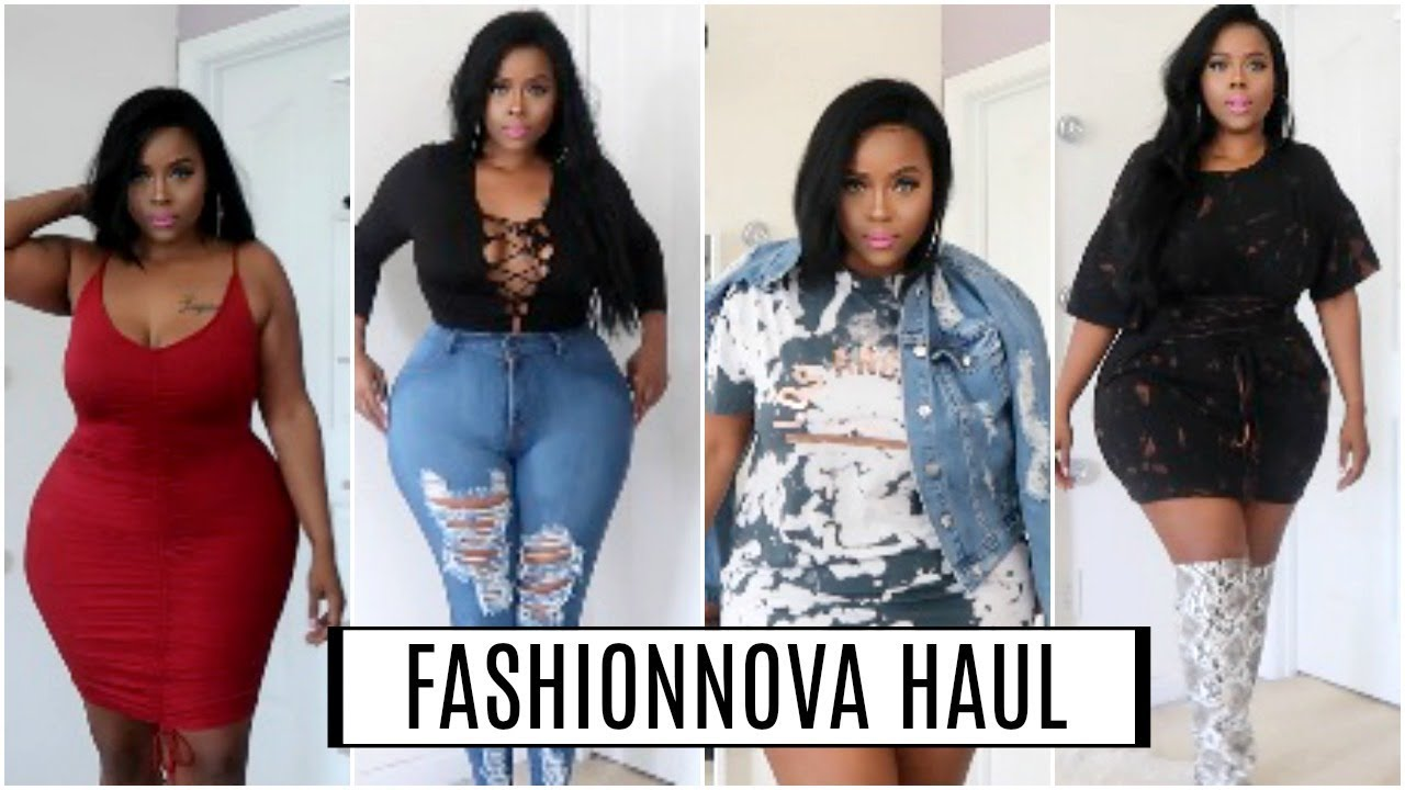 Fashion nova curve haul