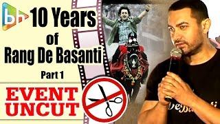 Aamir Khan | Rang De Basanti Team Reunites To Commemorate 10 Years Of The Film | Event Uncut PART 1