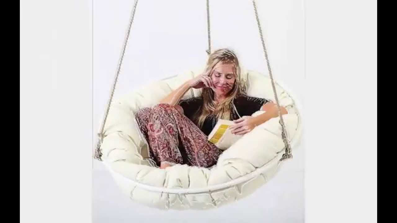 Indoor Swingasan Chair Heavy Duty Fishing Uk Papasan Sitting Or Hanging Outdoor Youtube