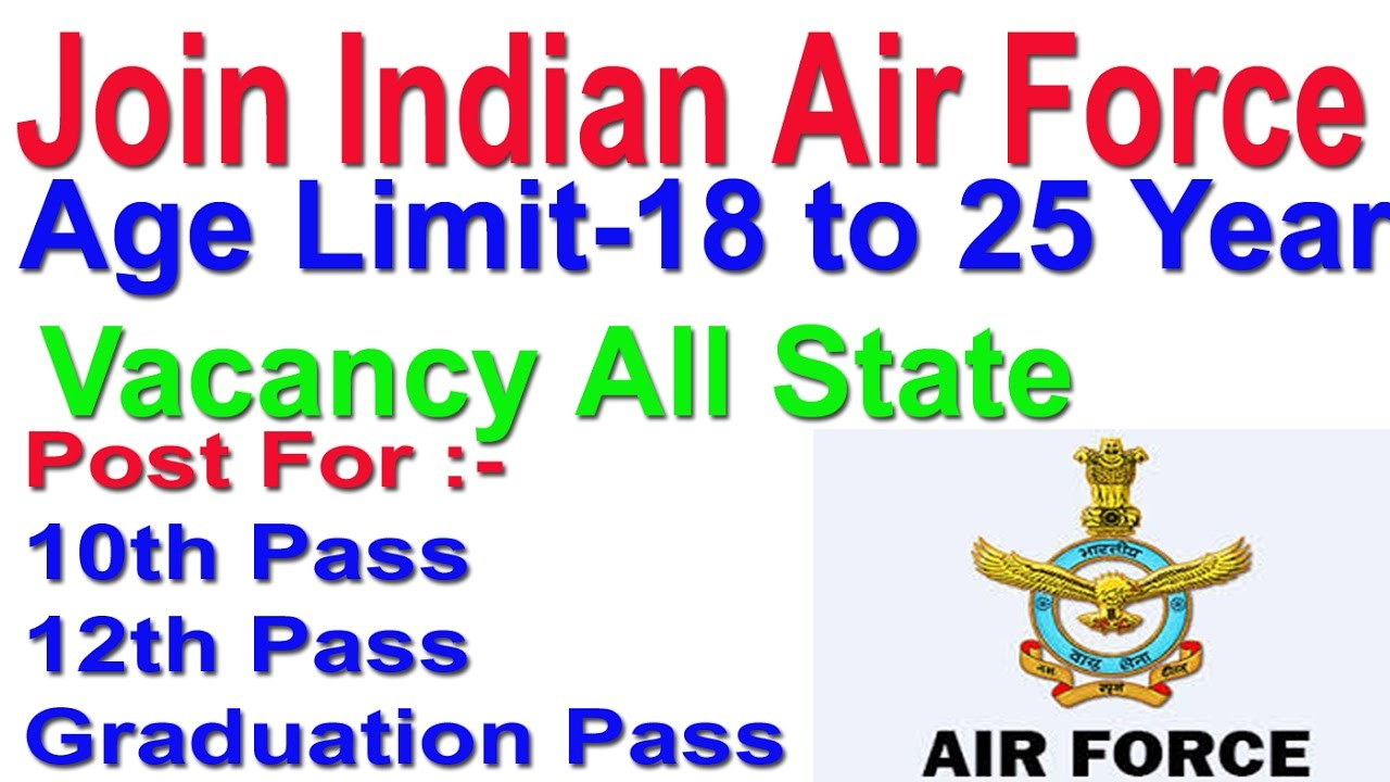 Join Indian Air Force Group C | Fill Application Now 2018 - YouTube