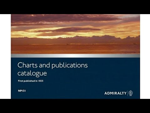 admiralty chart catalogue NP 131 explained