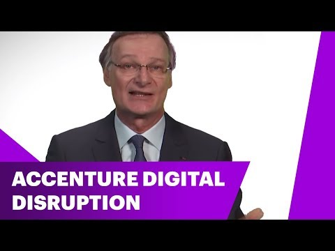 How Accenture Transformed to Lead in Digital-Related Services ? | How to manage disruption