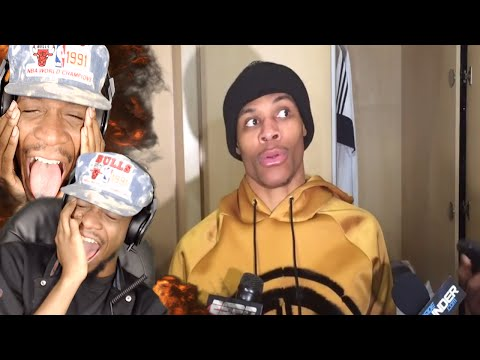 LMAOO RUSSELL CHILL I CANT BREATHE! HILARIOUS NBA INTERVIEWS PART 2 REACTION!
