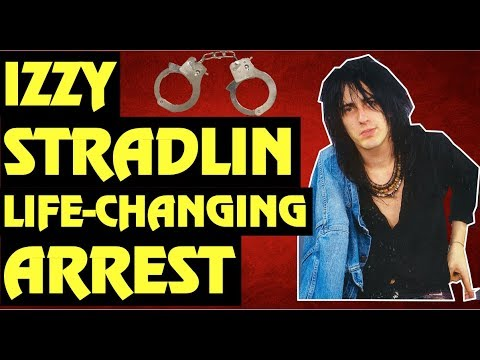 GUNS N' ROSES: Izzy Stradlin's Life Changing Arrest