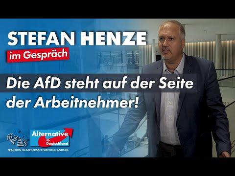 Die AfD steht auf der Seite der Arbeitnehmer! Stefan Henze, MdL (AfD)