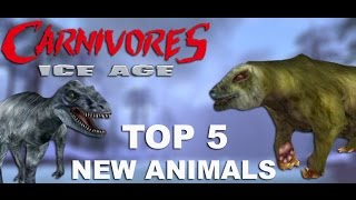 TOP 5 New Animals to add to Carnivores: Ice Age (Mobile)