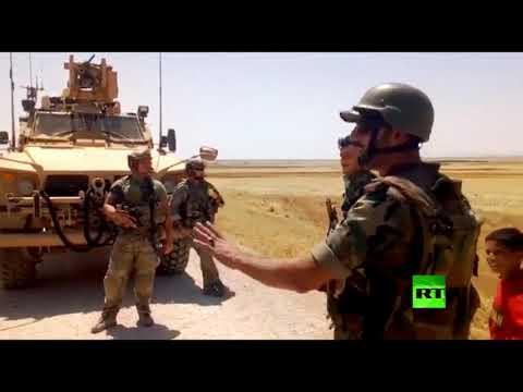 مناوشة بين جندي سوري وجنود أمريكيين في الحسكة بعد قذف مدرعة أمريكية بالحجارة  - نشر قبل 6 ساعة