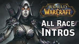 World of Warcraft: All Race Intro Cutscenes (WoD)
