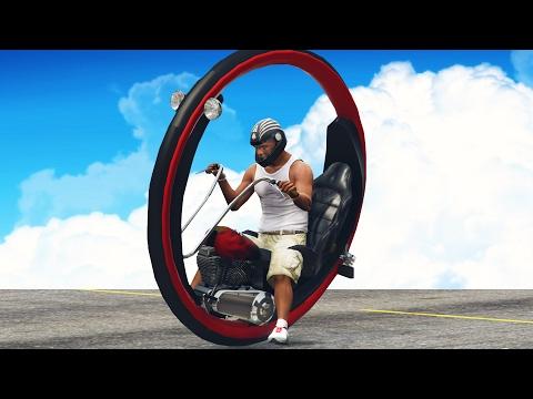 TEK TEKERLEKLİ MOTOR (GTA 5 Mod)