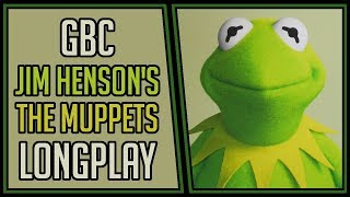 Jim Henson's The Muppets | GBC | Longplay | Walkthrough #146 [4Kp60]