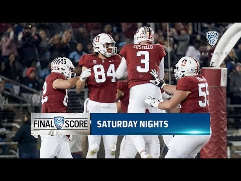 Recap: Colby Parkinson's career day propels Stanford football past Oregon State