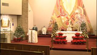 The Feast of the Holy Family   Weekend Mass December 27, 2020