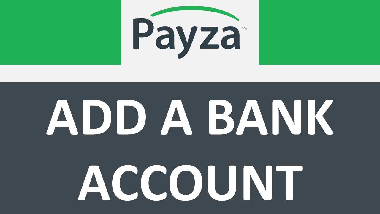 How To Add Your Bank Account To Payza So You Can Make Bank Wires And  Transfers