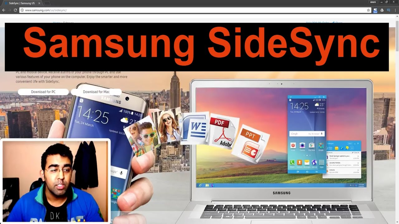 How to Use Samsung Phone on PC and MAC