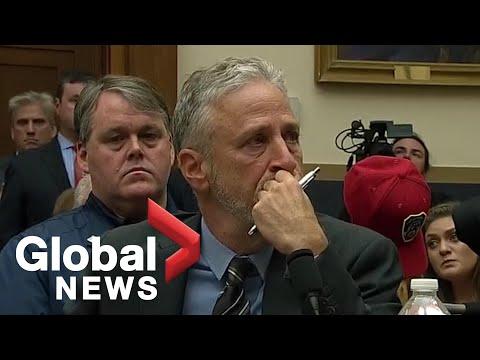 Jon Stewart speaks