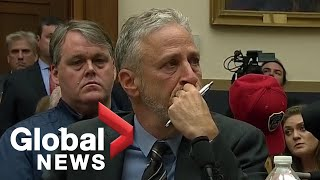Jon Stewart speaks as part of hearing on 9/11 Victim Compensation Fund | FULL