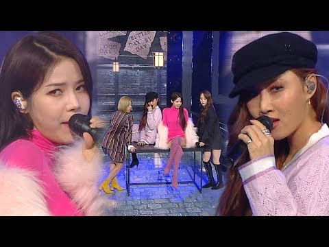 MAMAMOO(마마무) - Wind flower @인기가요 Inkigayo 20181209