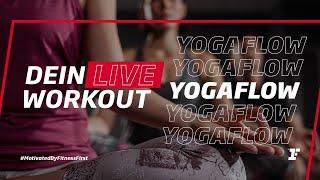 Fitness First Live Workout - YogaFlow mit Katha