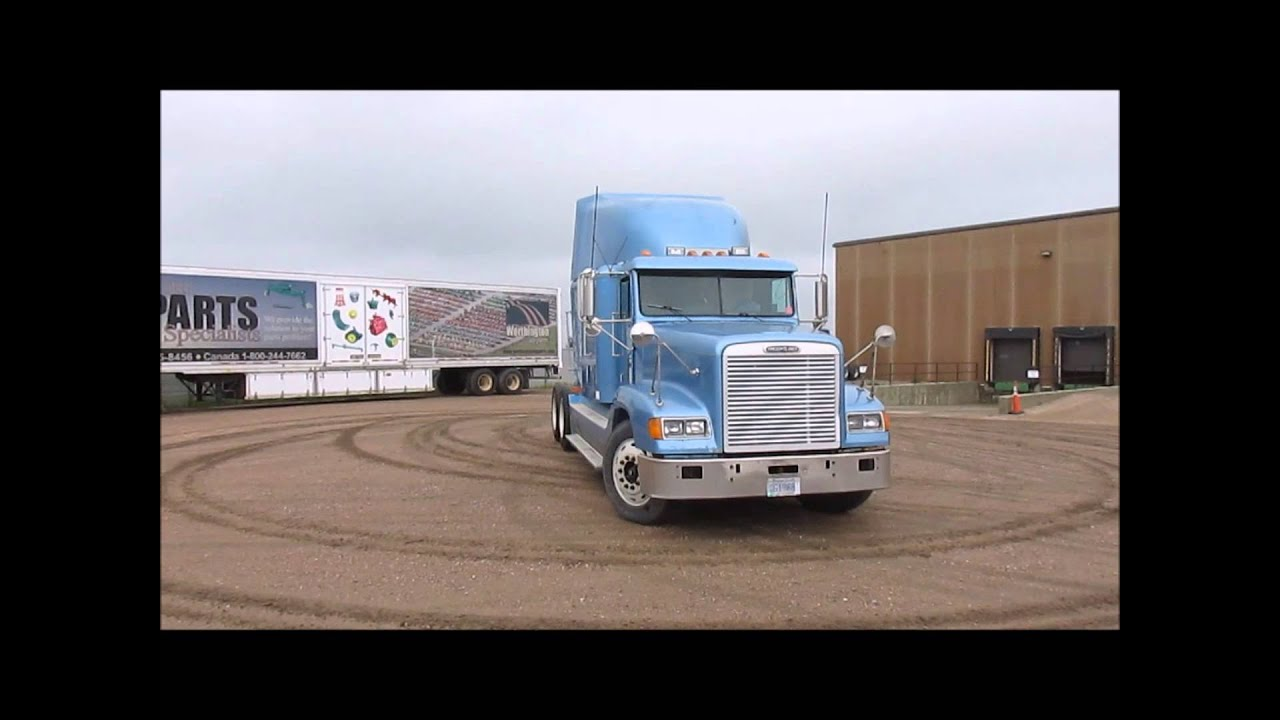 Freightliner Trucks For Sale >> 1998 Freightliner FLD120 semi truck for sale | sold at auction September 16, 2014 - YouTube
