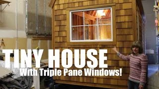 """the Runaway Shanty""- A Tiny House/cabin On Wheels Tour!"