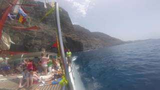 Catamaran gopro tenerife