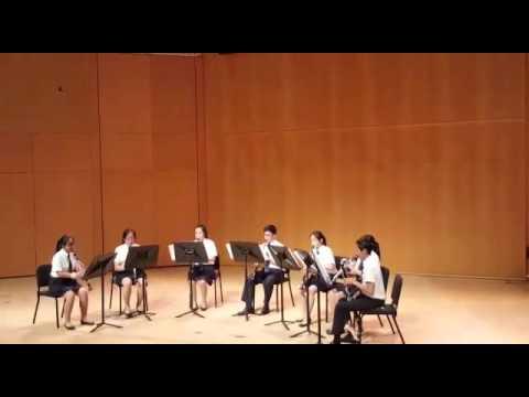 Singapore Ensemble Competition 2016 - ACJC Clarinet Ensemble