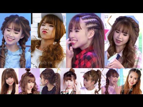 Hairstyles - Tổng Hợp Cách Làm Các Kiểu Tóc Siêu Cute Của Ca Sĩ Khởi My