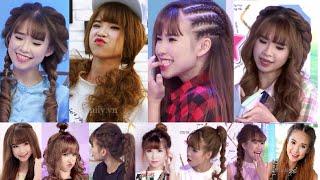 Hairstyles - Tổng Hợp Cách Làm Các Kiểu Tóc Siêu Cute Của Ca Sĩ Khởi My | Yêu Làm Đẹp