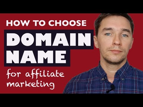 How to Choose a Domain Name for Affiliate Marketing - Tips