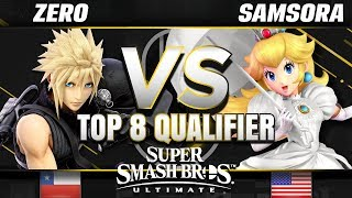 eU | Samsora (Peach) vs. Tempo | ZeRo (Cloud) - Ultimate Losers Top 8 Qualifier - SC United