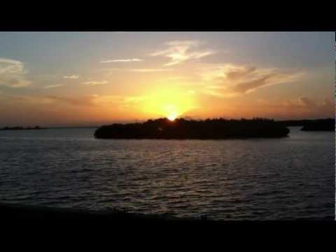 Sunset on Tampa Bay Florida