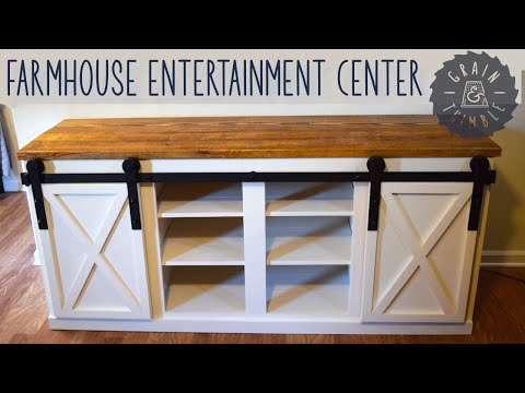 Farmhouse Style Entertainment Center