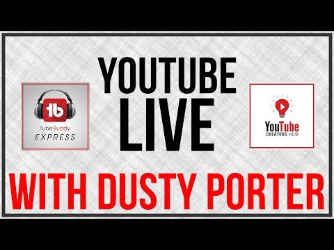 🔴 Making Sure Your Content Is Advertiser Friendly - Hosted by Dusty Porter