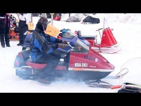Antique Snowmobile Rendezvous Drives Into Pequot Lakes