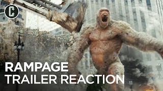 Rampage Trailer Reaction & Review