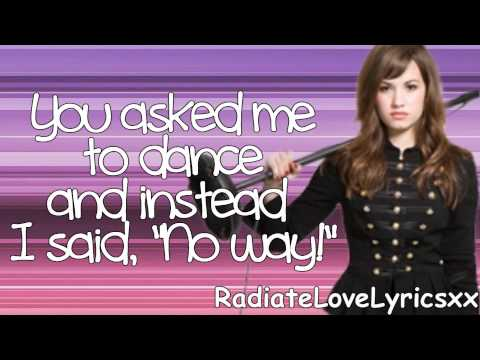 Demi Lovato:Trainwreck Lyrics