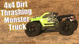 Mud & Dirt Thrashing RC Monster Truck! - ARRMA Granite 4x4 Mega Review & Running | RC Driver
