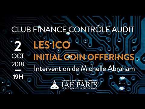 Club Finance Contrôle Audit - Les Initial Coin Offerings