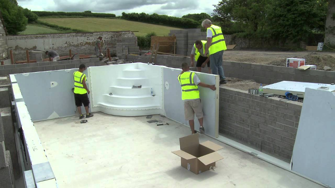 Polypool interview about swimming pool insulation youtube Basement swimming pool construction