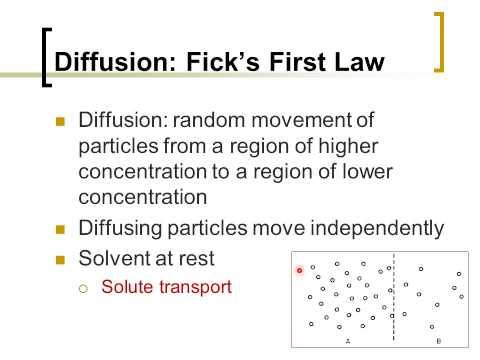 Biophysics ch4: Transport in Infinite Media (Diffusion)  (Arabic Narration)