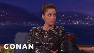 "Amanda Peet's ""Game Of Thrones"" Ultimatum To Her Husband - CONAN on TBS"