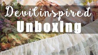 Unboxing & Review n°3 : Robe lolita de chez Devilinspired