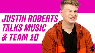 Team 10's Justin Roberts Has NEW MUSIC Coming Soon