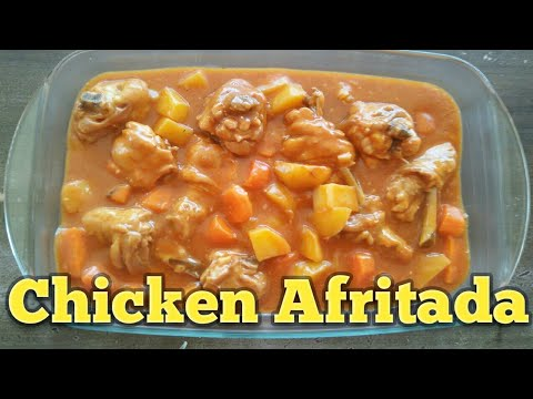 CHICKEN AFRITADA I CHICKEN with Tomato sauce