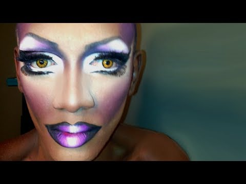 How to do drag queen eye makeup