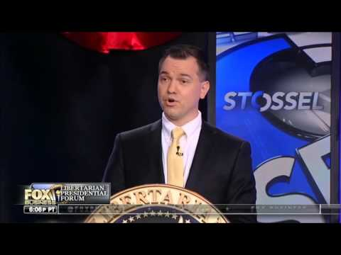 Stossel Fox Business Libertarian Debate (Part 1 & 2)