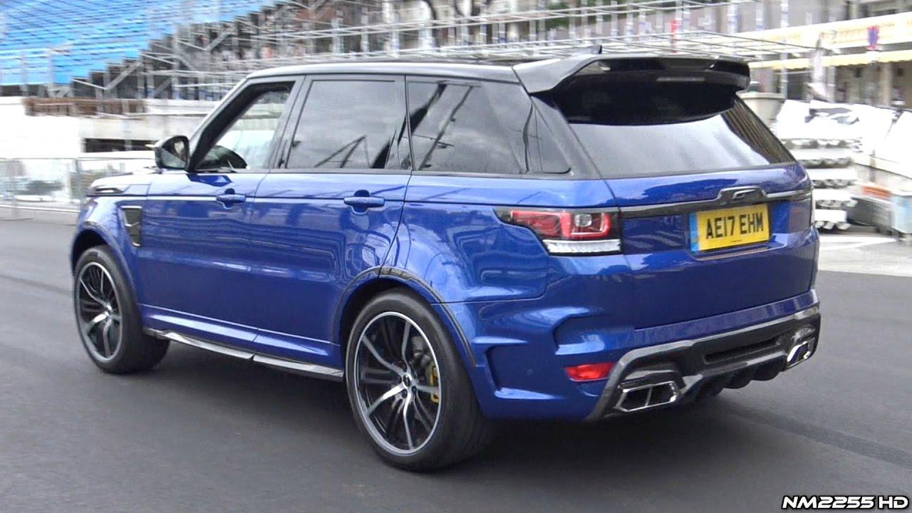 Range Rover Sport Svr 2018 >> Overfinch Supersport Range Rover SVR LOUD Exhaust Sounds! - YouTube